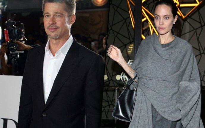 Brad Pitt Angelina Jolie Divorce French Estate War