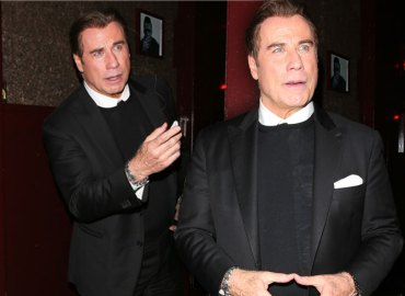John Travolta Grammys After Party Without Wife Video