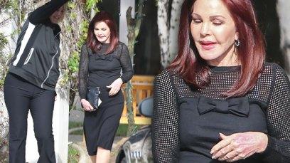 Priscilla Presley Custody Twins Mystery Man Pics