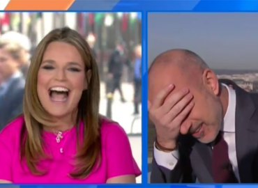 Savannah guthrie return today show confuse matt lauer with husband