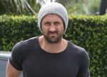 *EXCLUSIVE* Maksim Chmerkovskiy shows off his muscular build as he lunches in Weho