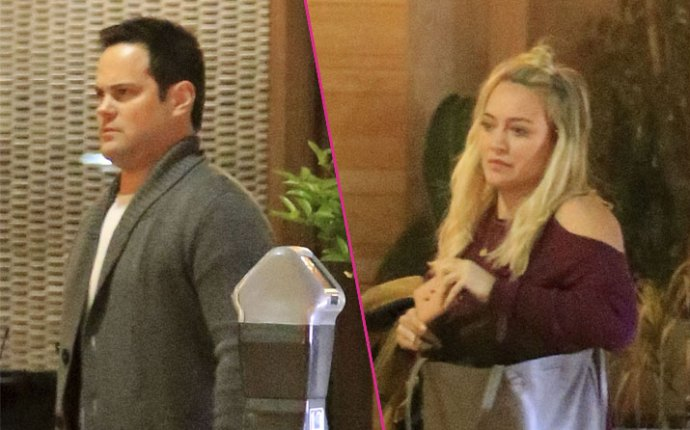 Hilary duff dinner ex husband mike comrie rape charges sexual battery