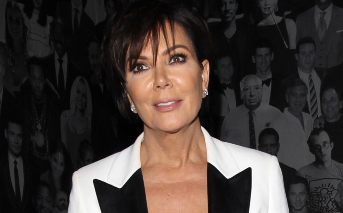 Kris Jenner and Corey Gamble grab a late night bite at Catch LA