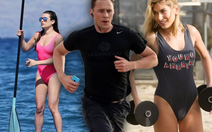 Celebrities Working Out Routines Beach Bodies Pics