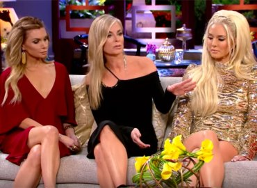 Eileen davidson fights kim richards rhobh reunion