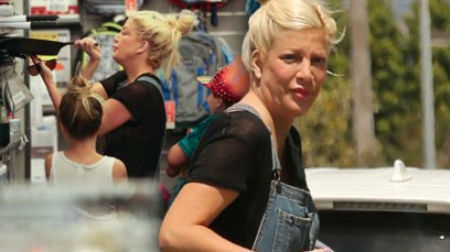 Tori Spelling Spotted First Time Post Birth Debt Shopping Pics