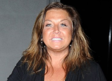 Former 'Dance Moms' Abby Lee Miller smiles wide after dinner at Craigs