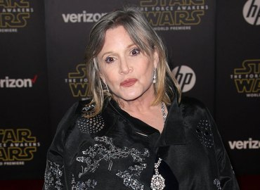 Carrie fisher honored hollywood street named after her