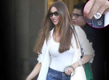 Sofia vergara wedding ring off joe manganiello star