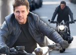 Tom Cruise Mission Impossible 6 Motorcycle Stunts Video