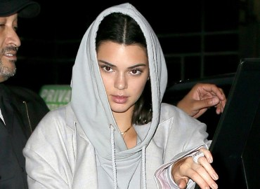 Kendall Jenner & A$AP Rocky are spotted out together at ASAP's video shoot in Soho