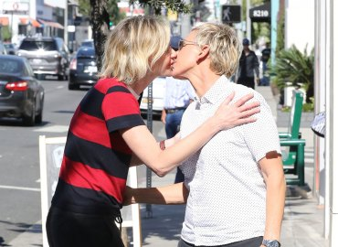 Portia de rossi ellen degeneres pda rumors marriage trouble