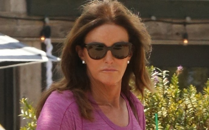 *EXCLUSIVE* Caitlyn Jenner takes her pup out for a spin and grocery shopping