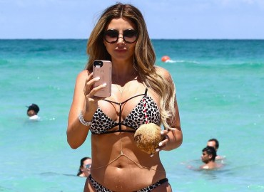 Larsa Pippen turns the tables on the Paparazzi