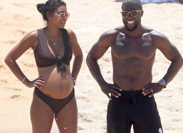 kevin hart pregnant wife eniko parrish beach getaway