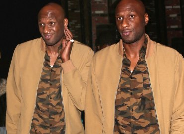 Lamar Odom Partying Hollywood