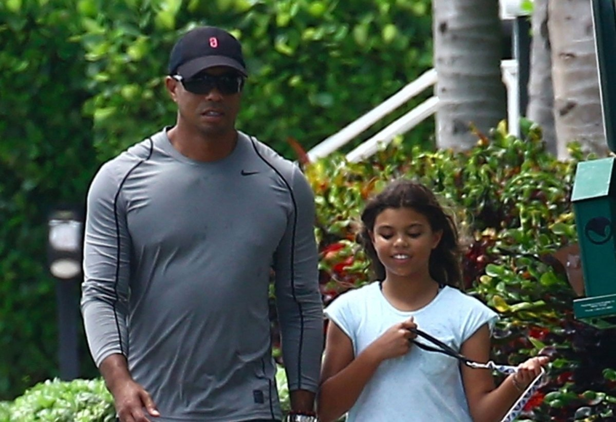 video  tiger woods spends quality time with kids post rehab