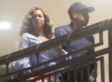Beyonce jayz romantic dinner post twins
