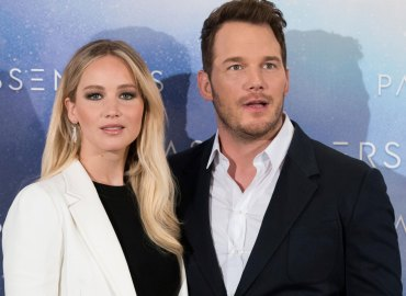Chris pratt pushed pals date jennifer lawrence anna faris split