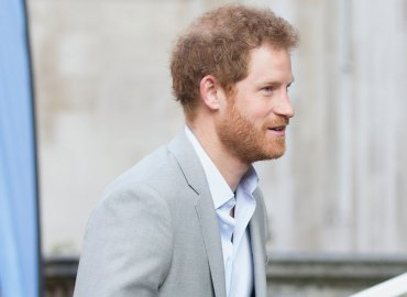 Follicle challenged prince harry shows signs early balding