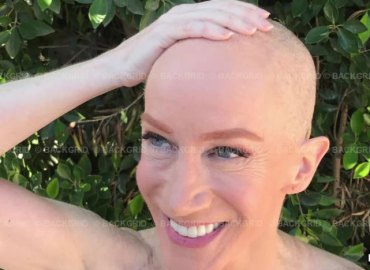 Kathy griffin shaves head solidarity cancer suffering sister