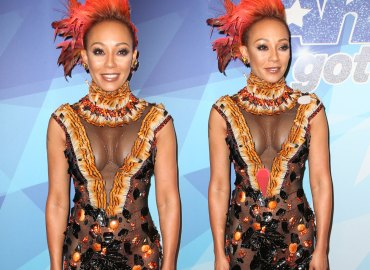 Mel B Americas Got Talent Premiere Crazy Outfit