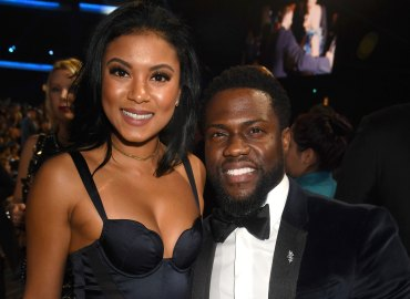 Kevin hart pregnant wife eniko spotted first time since scandal