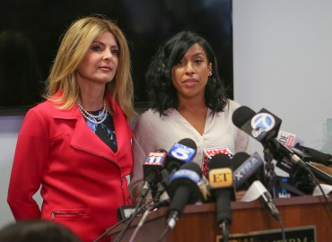 Kevin harts alleged mistress montia sabbag held a press conference