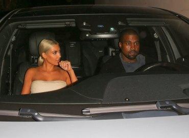 Kim kardashian kanye west spotted looking miserable on date