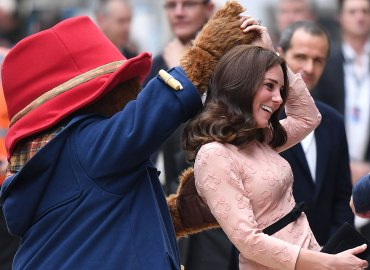 Pregnant Kate Middleton Dances Paddington Bear feature