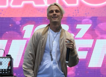 Aaron carter abandons rehab just two weeks