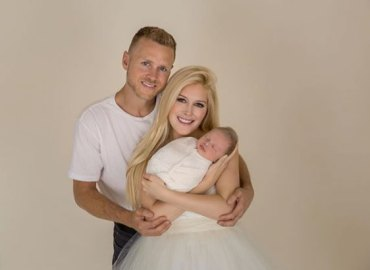 Heidi montag post photos picture perfect family 2