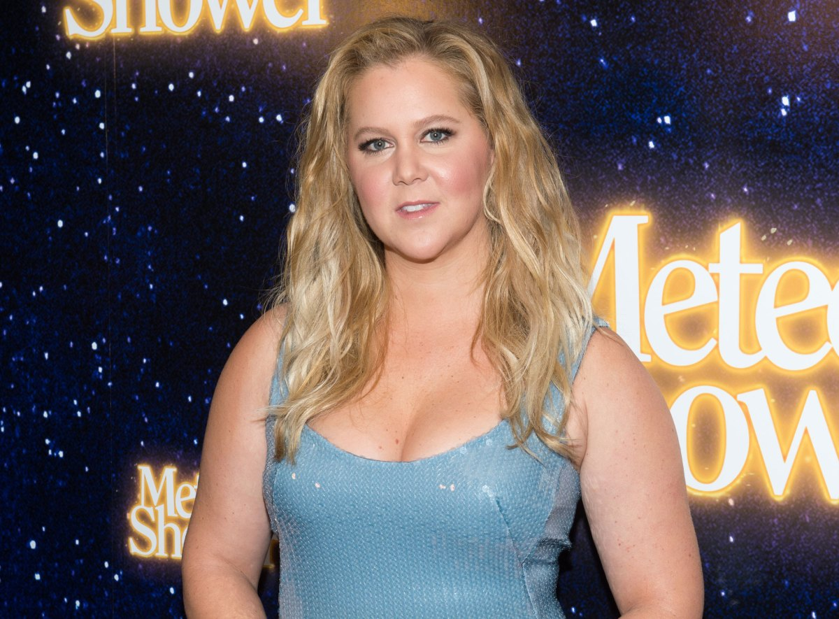Amy Schumer Poses Nude For Top Moments Of 2017