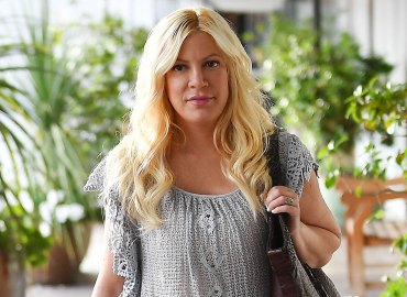 Tori spelling suffers alleged breakdown