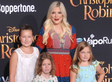 Christopher Robin Premiere Tori Spelling Dean McDermott Missing