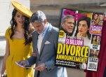 George Amal Clooney Divorce Star Magazine Cover