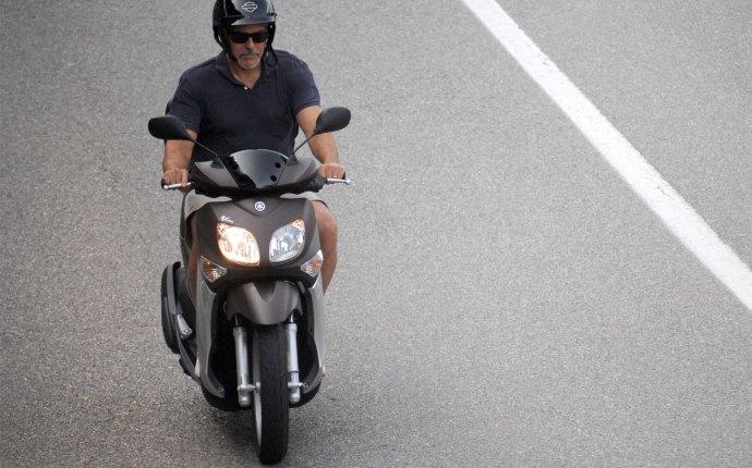 George Clooney Motorcycle Crash Sardinia Italy