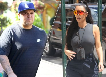 Kim Kardashian Rob Kardashian Begs Emotional
