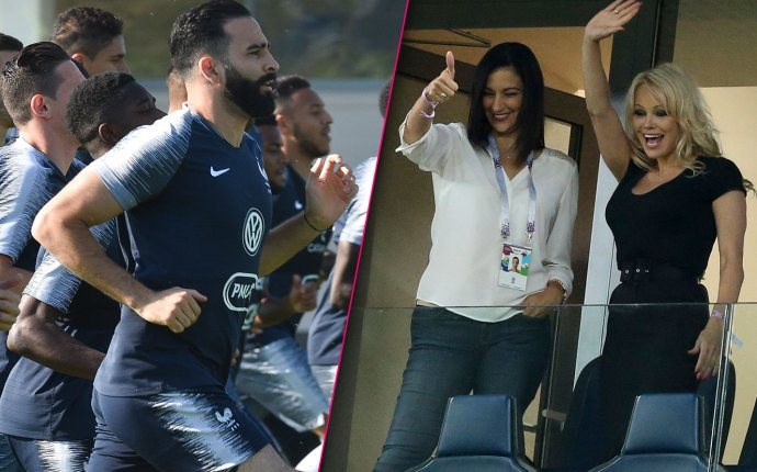 The World Cup Semi-Final on Tuesday July 10 between France and Belgium was a totally European event. That is, except for the appearance by Pamela Anderson! It turns out her newest beau is one of the men from the winning team! Click through the gallery for all the details on Pamela's French affair.