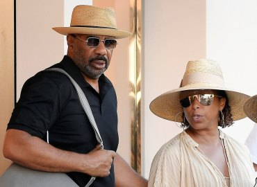Steve Harvey wife Marjorie vacation divorce