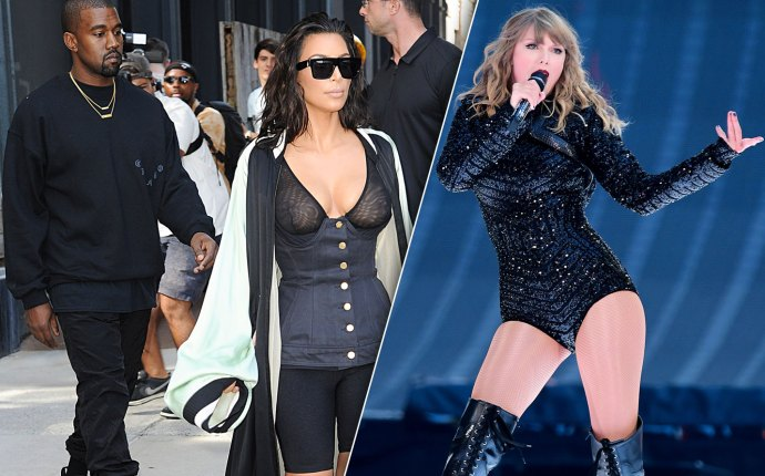 Taylor Swift Kim Kardashian Feud