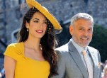 Amal george clooney sell motorbike accident star pp