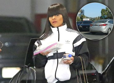 Blac Chyna Car Accident Mom Burger King