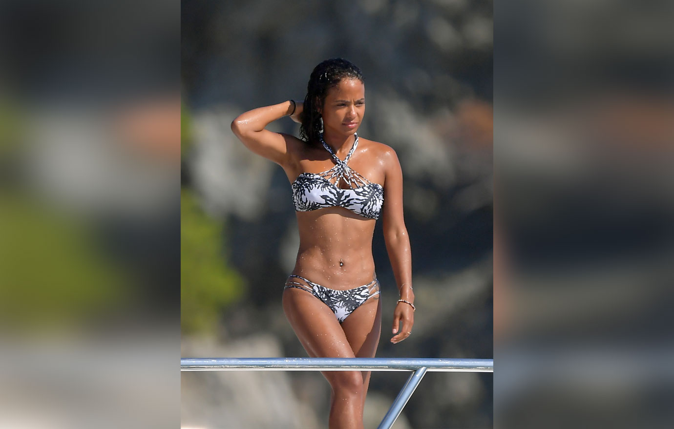 Sexy pictures of christina milian entertaining question