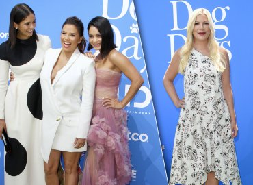 Dog Days Eva Longoria Tori Spelling Red Carpet Premiere