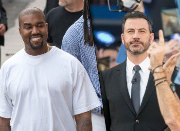 Kanye West Kimmel Jimmy