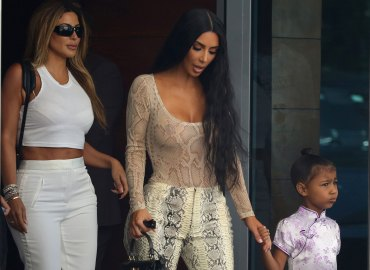 Kim Kardashian Miami Snake North West
