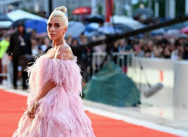 Lady Gaga A Star Is Born Pink Dress