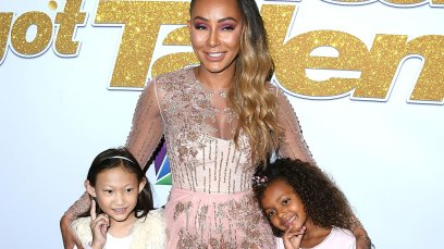 """America's Got Talent"" Season 13 Live Show Red Carpet Mel B daughter Madison"