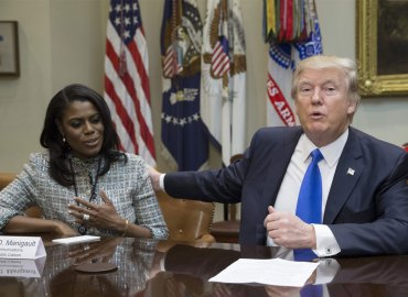 Omarosa with President Donald Trump Friends
